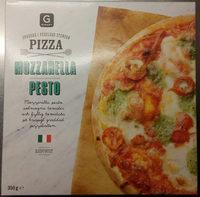 Garant Pizza Mozzarella Pesto - Produit - sv