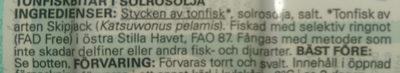 Tonfisk, bitar i solrosolja - Ingredients - sv