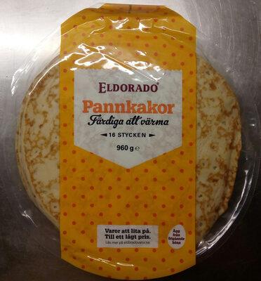 Eldorado Pannkakor - Produit - sv