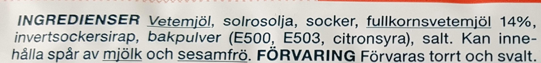 Klassiska Digestive - Ingrédients - sv