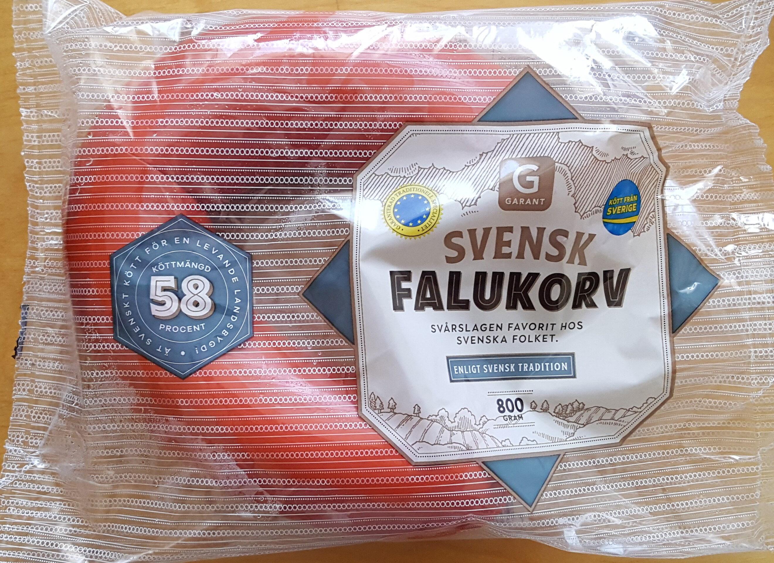 Svensk Falukorv - Produit - sv
