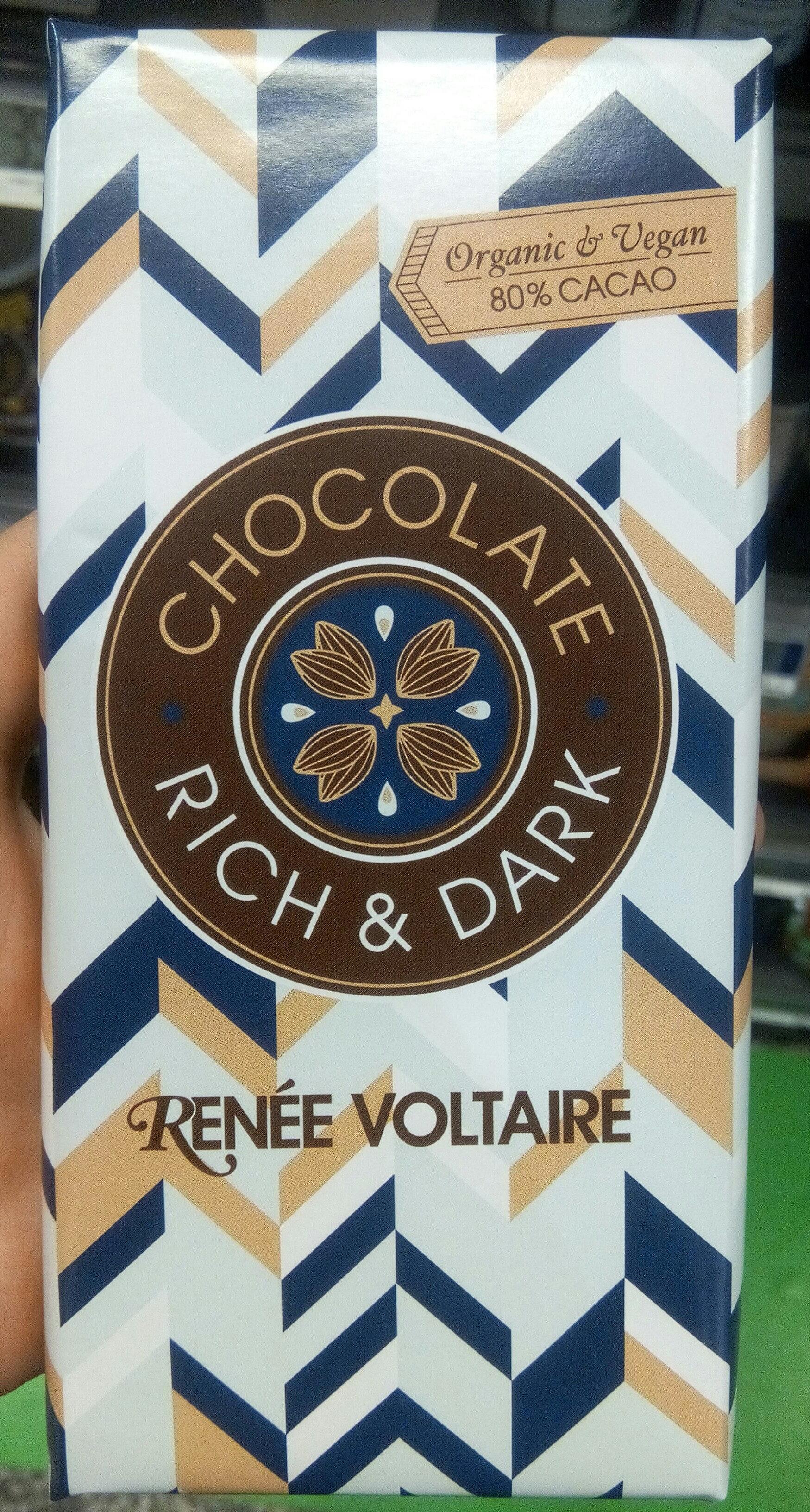 Chocolate rich & dark 80% - Product