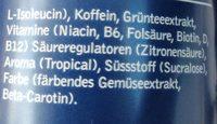 BCAA Tropical - Ingrediënten