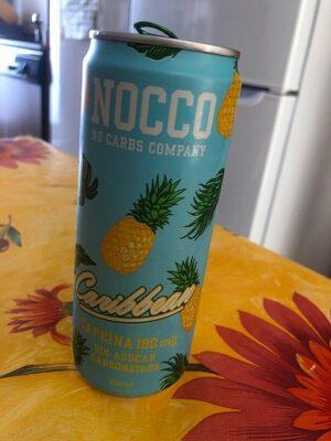 Caribbean bebida energética enriquecida con bcaa