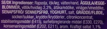 PicaDeli Vitlök - Ingrédients - sv