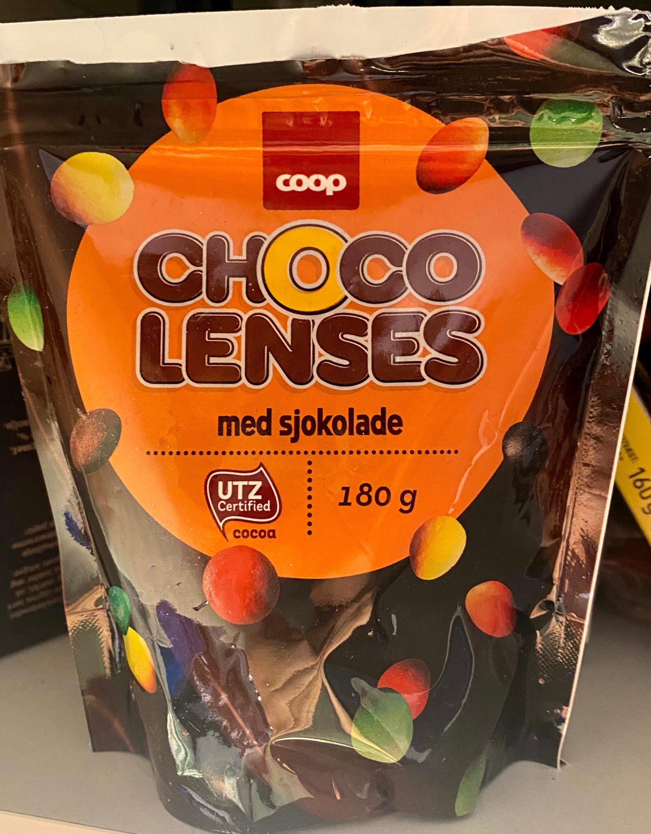 Choco Lenses med sjokolade - Produit - nb