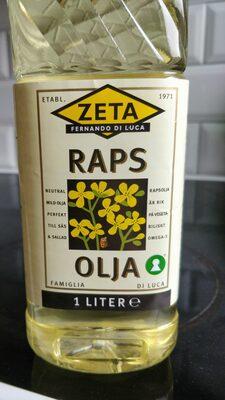 Raps olja - Product - en