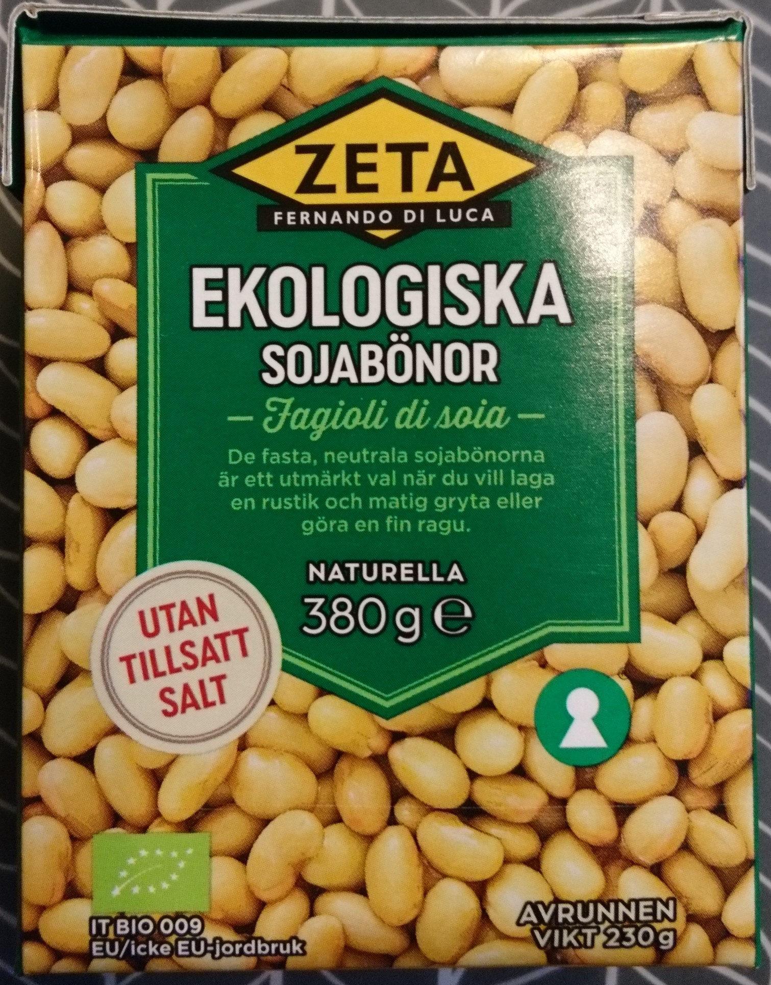 Ekologiska sojabönor - Product