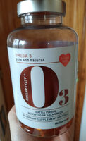 Extra Virgin Norwegian Salmon Oil - Product - sv