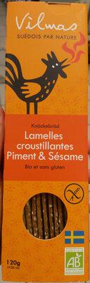 Lamelles croustillantes piment & sésame - Produit - fr