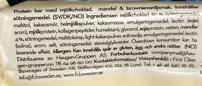 Big Bite Protein Pro Almo - Ingrédients