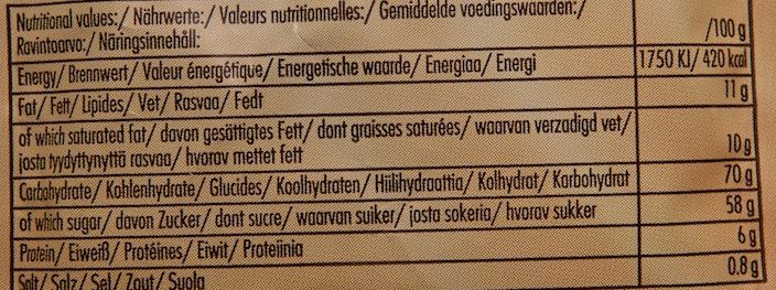 Chocolate Drink - Informations nutritionnelles - fr