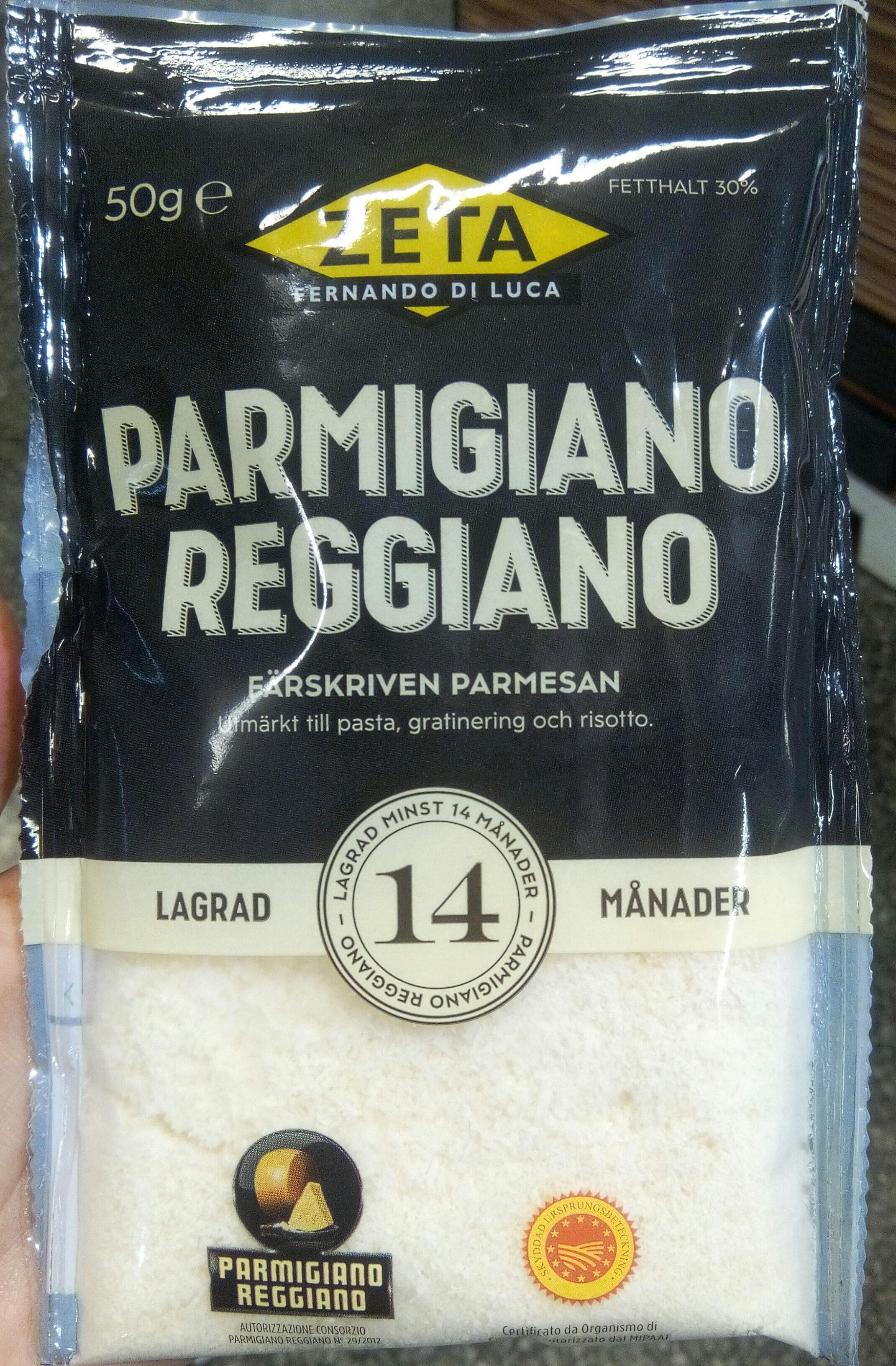 Parmigiano Reggiano 14 månader - Product