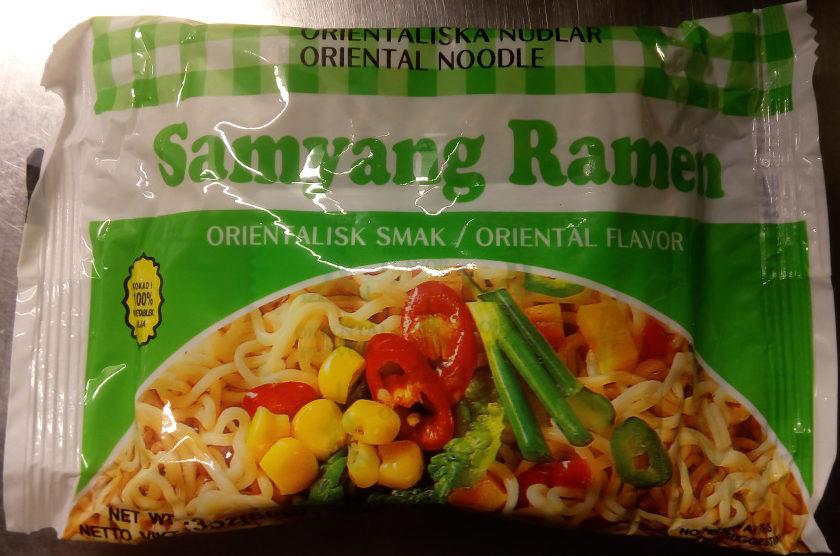 Samyang Ramen Orientalisk smak - Product - sv