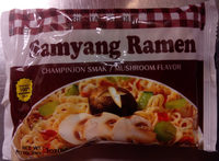 Samyang Ramen Champinjon smak - Product - sv