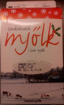 Emåmejeriet Småländsk mjölk - Produit