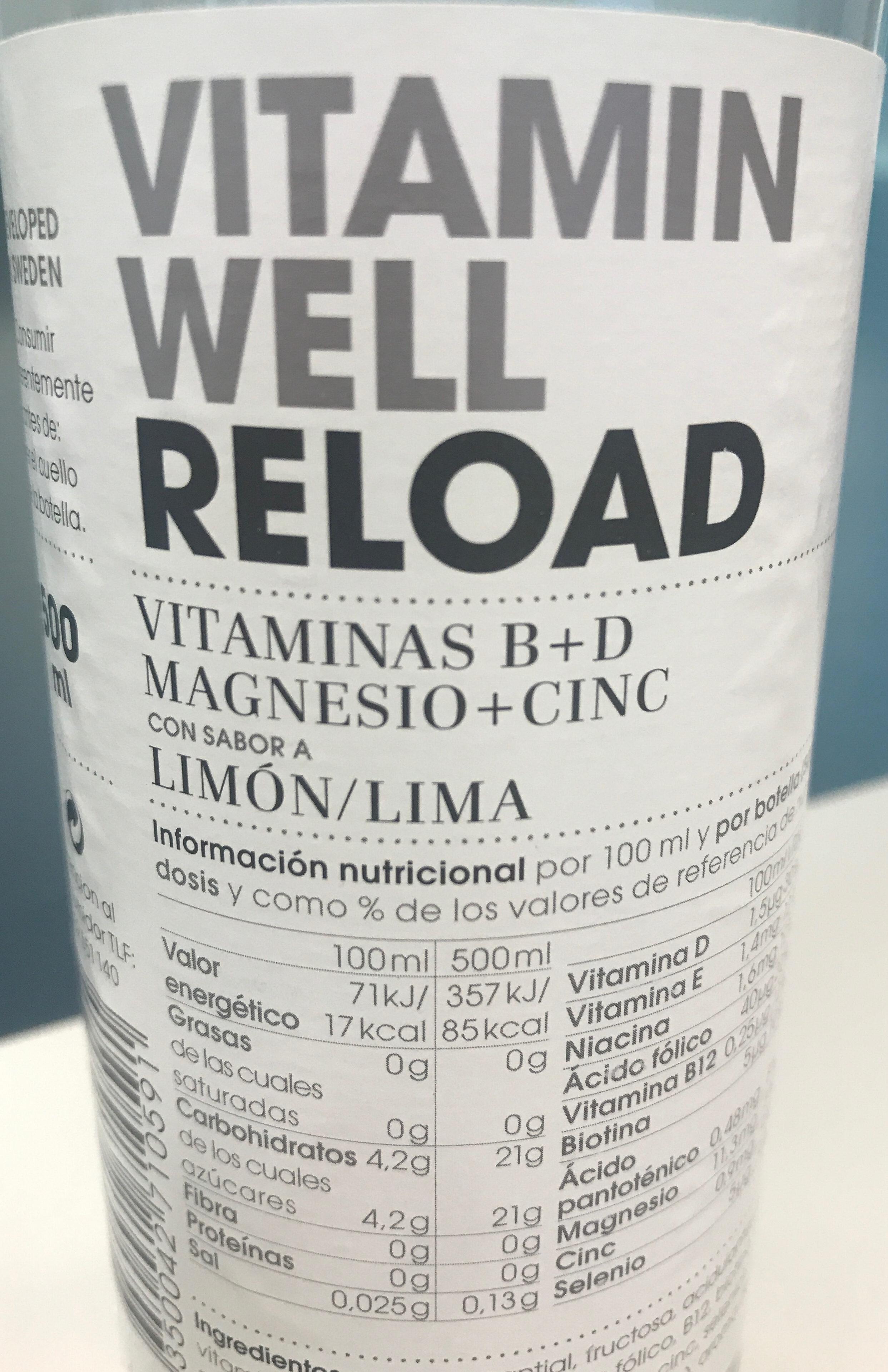 Vitamin B+D50CL Limon DP16 - Produkt - fr