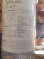 Vitamin B+D50CL Limon DP16 - Inhaltsstoffe - fr