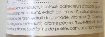 Vitamin well Antioxidant - Inhaltsstoffe - fr