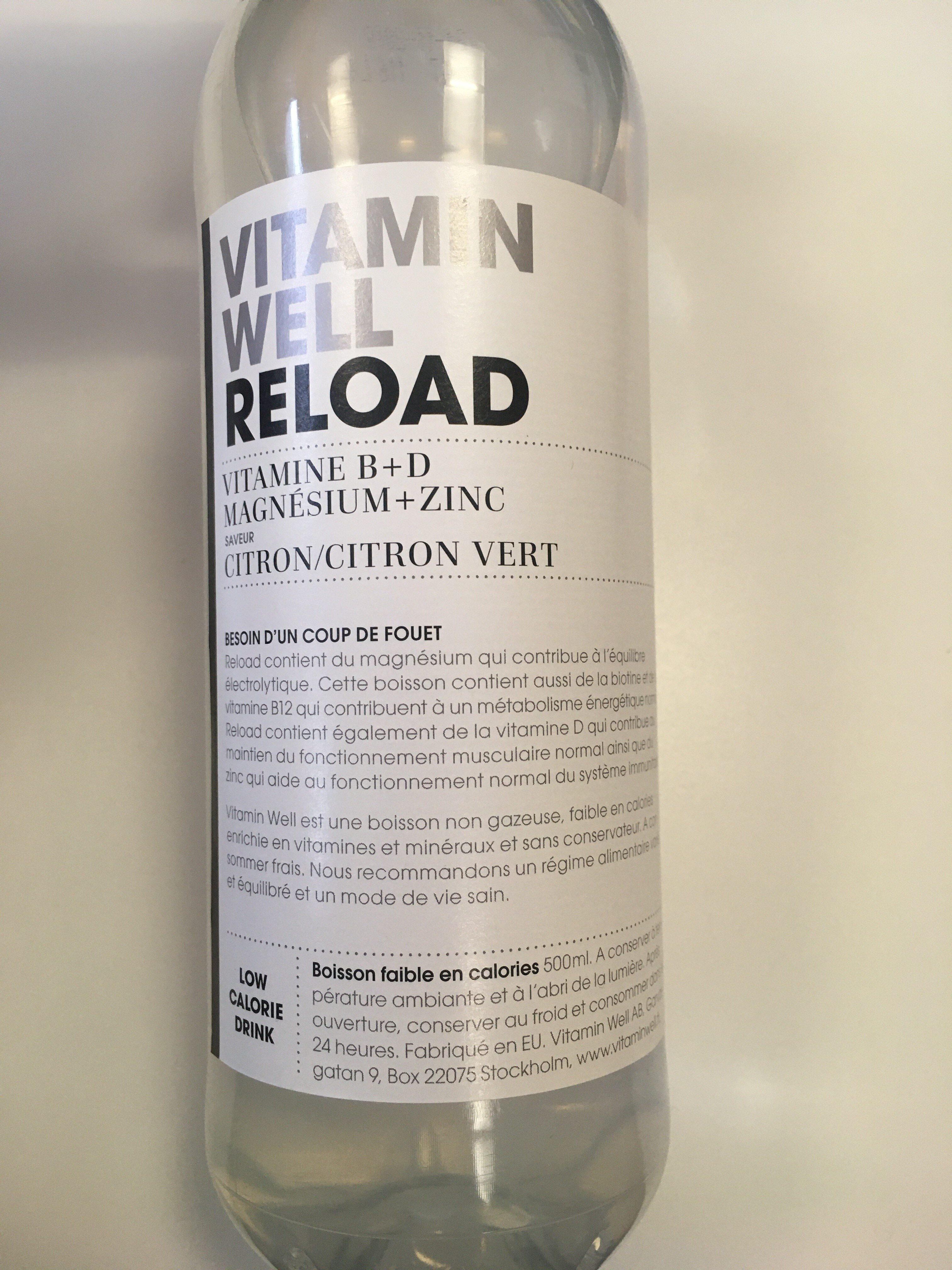 Vitamin well reload - Produit - fr