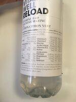 Vitamin well reload - Ingrédients - fr