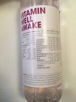 Vitamin well awake - Ingrédients - fr