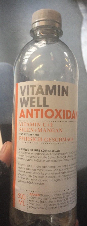 Vitamin Well Antioxidant - Nährwertangaben