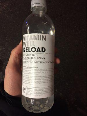 Vitamin Well Reload, Zitronen- / Limettengeschmack - Product