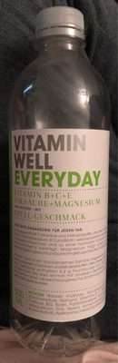 Vitamin Well Everyday 500ML - Produit