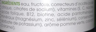 Vitamin Well Everyday 500ML - Ingredients
