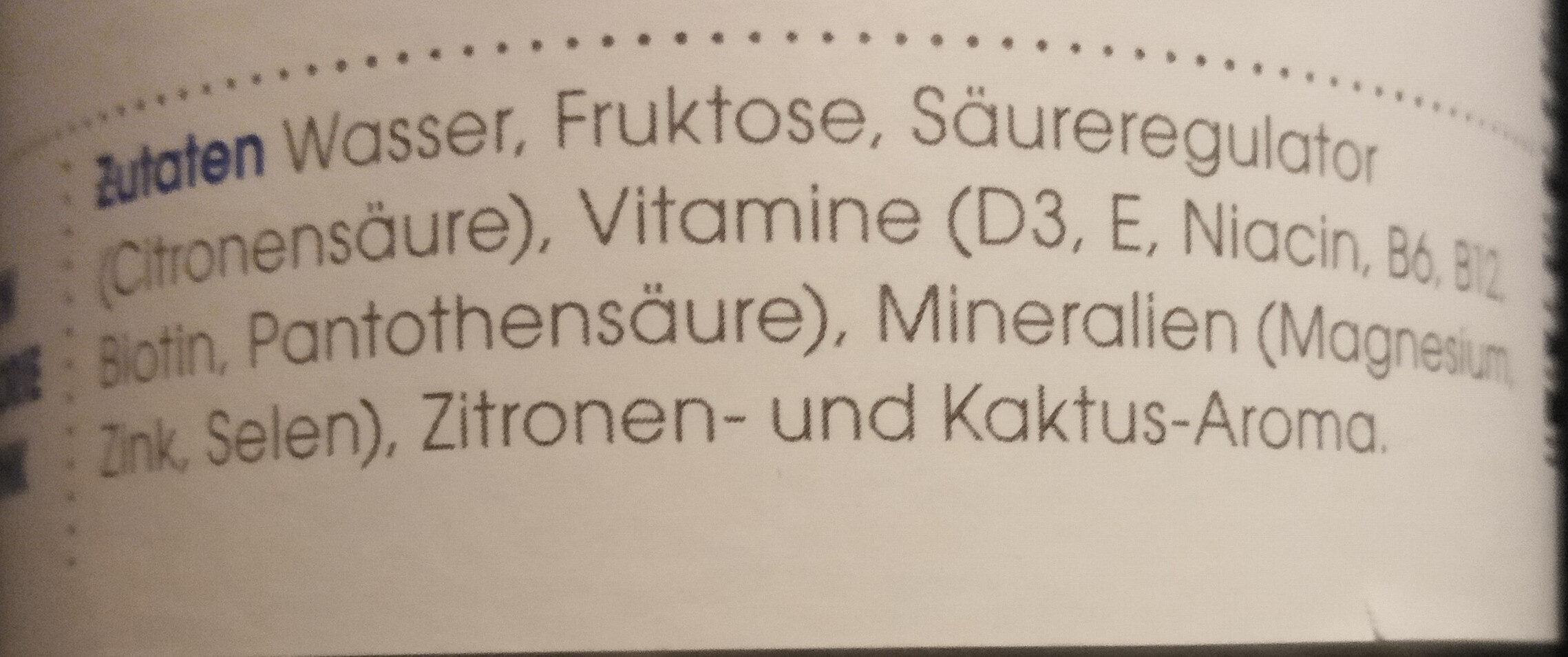 Vitamin Well Upgrade - Ingredienti - de