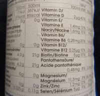 Vitamin Well Upgrade - Valori nutrizionali - de