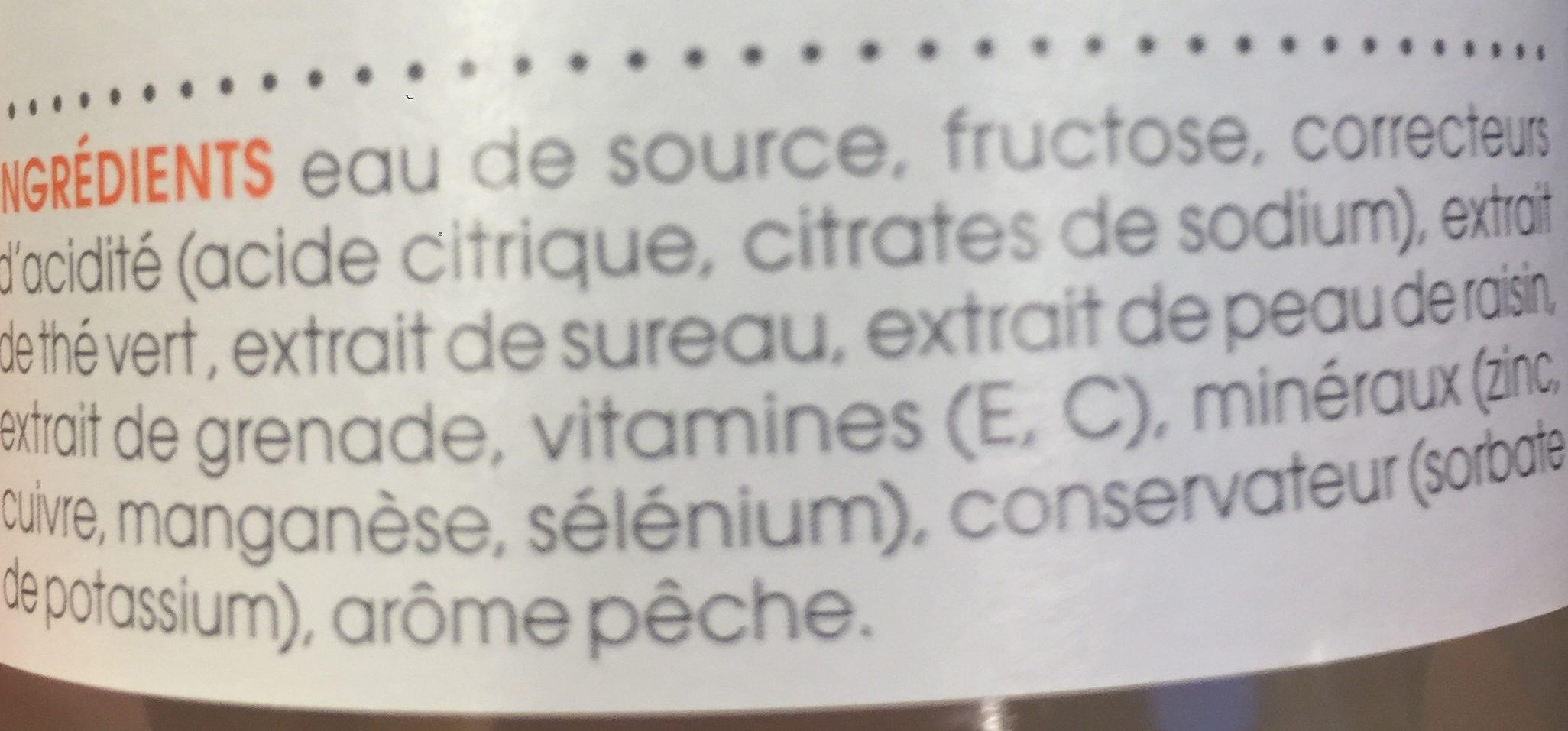 Antioxidant - Ingrediënten