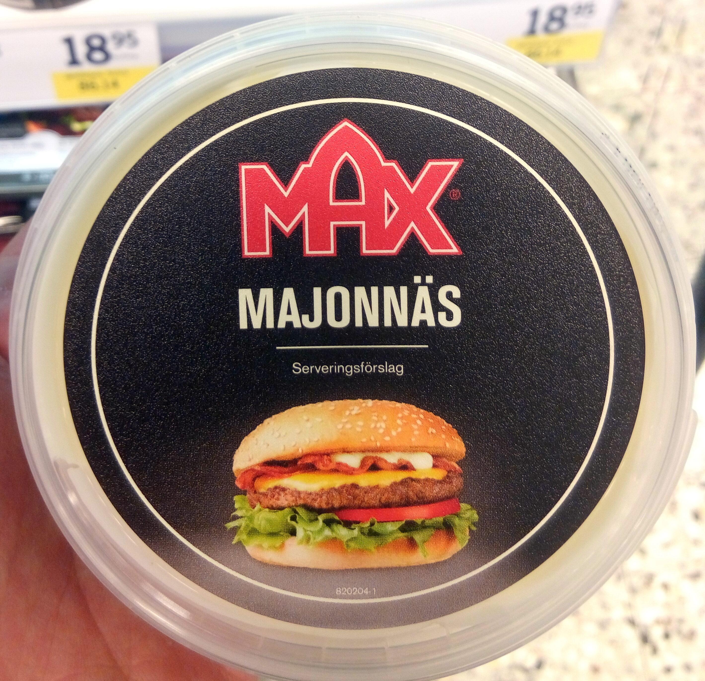 Majonäs - Prodotto - sv