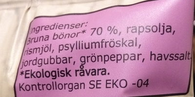 - Ingredients - sv