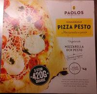 Paolos Vedugnsbakad Pizza Pesto Mozzarella e pesto - Product