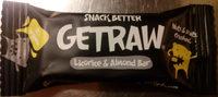 Getraw Licorice & Almond Bar - Product - sv