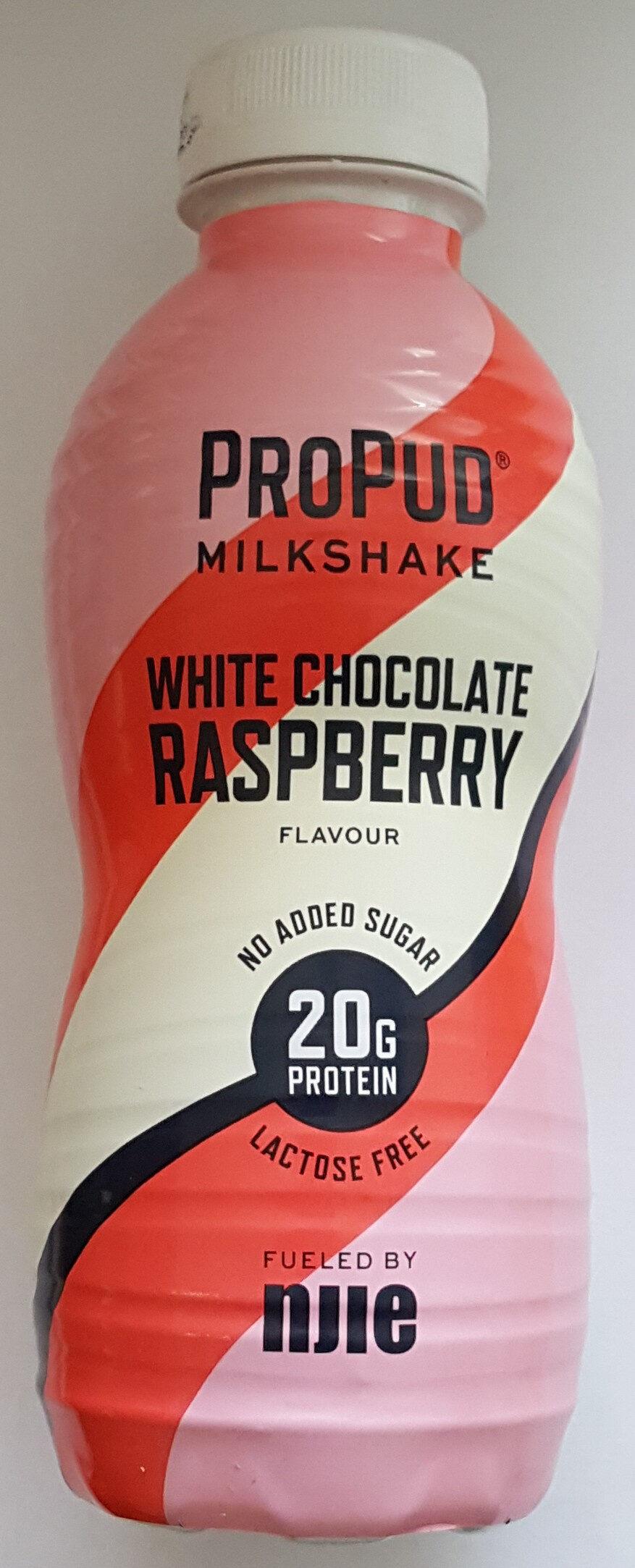 Njie ProPud Proteinmilkshake White Chocolate Raspberry Flavour - Product - sv