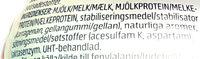 Njie ProPud Proteinmilkshake White Chocolate Raspberry Flavour - Ingrediënten - sv