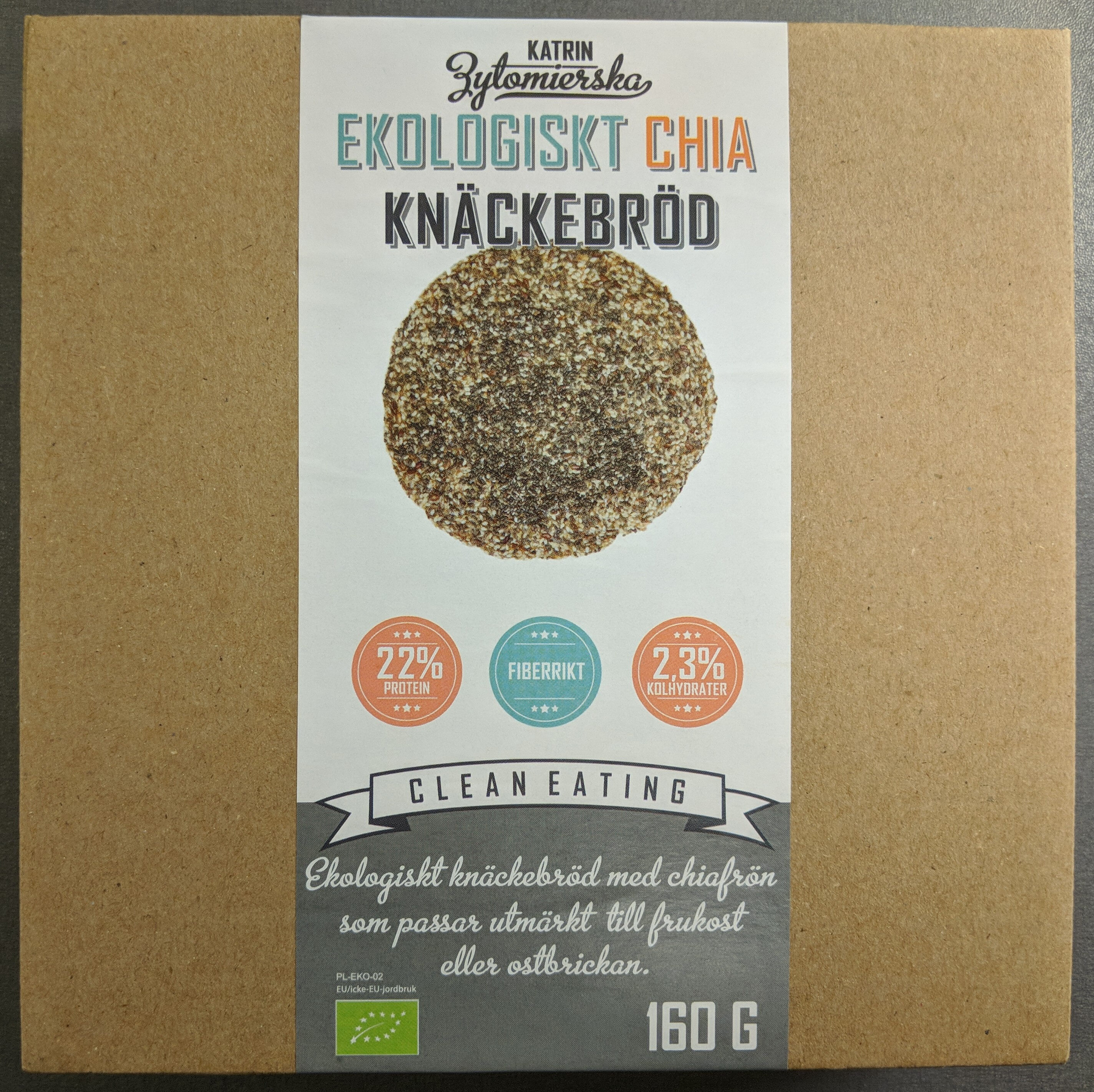 Ekologiskt Chia Knäckebröd - Product - sv