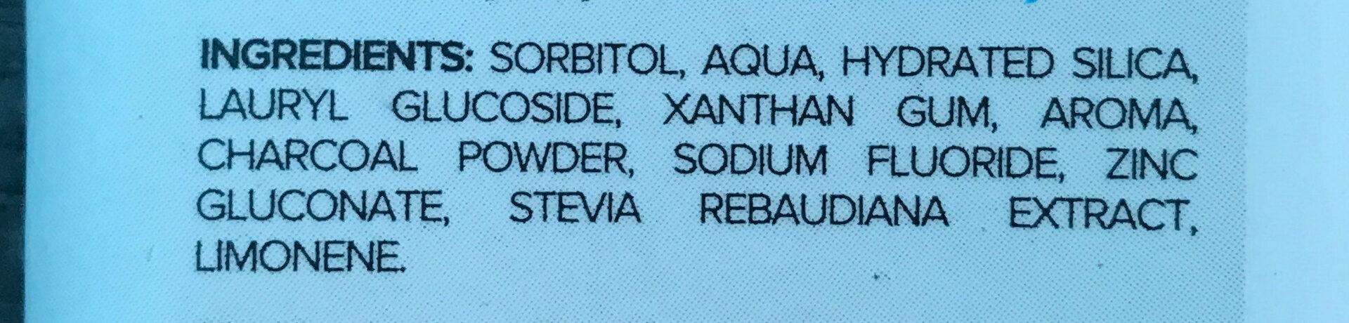 Natural Toothpaste - Ingredients