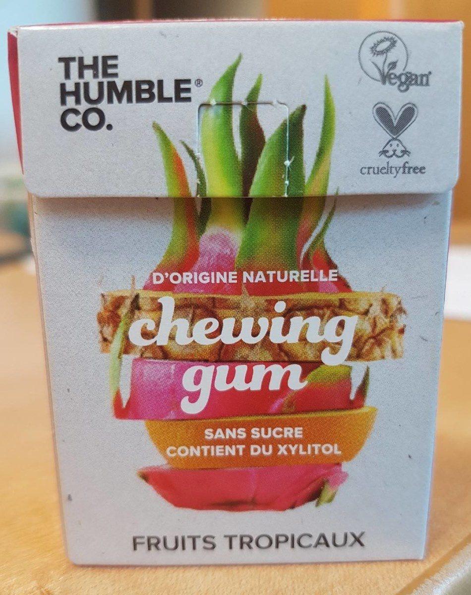 Chewing gum goût tropical - Produkt - fr