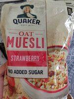 Oat muesli strawberry - Produit - es