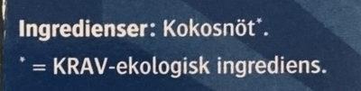 Kokoschips - Ingrédients - sv