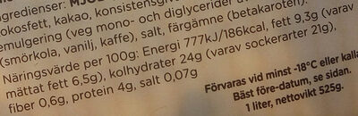 Alvestaglass Himmelsk röra - Nutrition facts