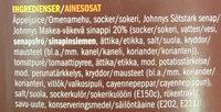 BBQ Sås Orginal - Ingrédients - sv