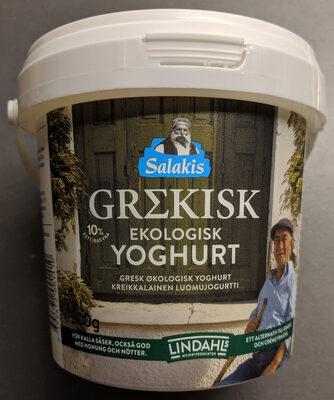 Grekisk Ekologisk Yoghurt - Product