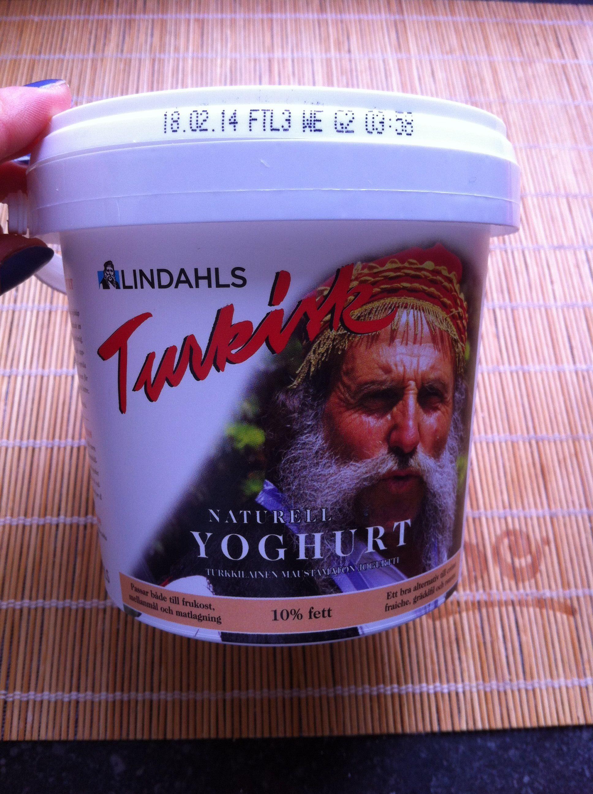 Naturell Yoghurt 10% fett - Produit - sv