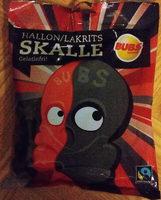 BUBS Hallon/Lakrits Skalle - Product