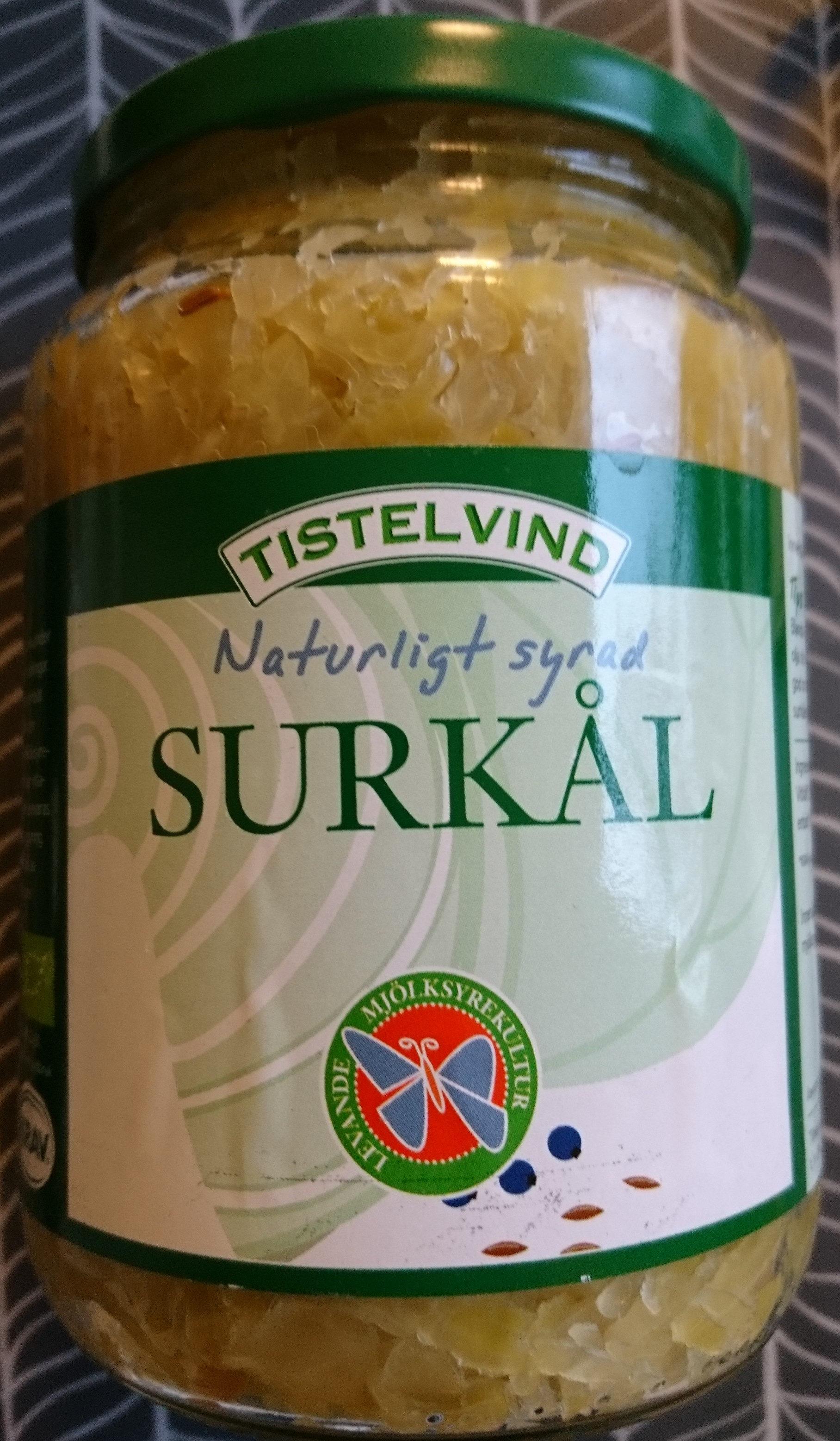 Naturligt syrad surkål - Produit - sv